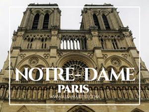 Notre-Dame Paris Pakistan travel blogger photogrpaher
