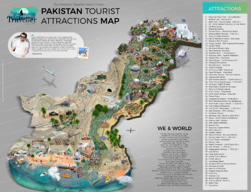 Pakistan Complete Tourist Attraction Map