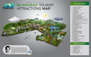 Islamabad Tourist Attractions Map feature image