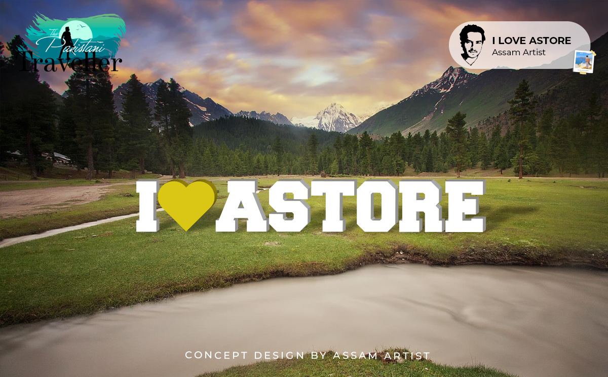 i love astore sign