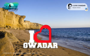 i love gwadar sign