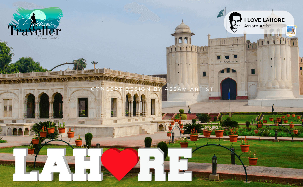 i love lahore sign