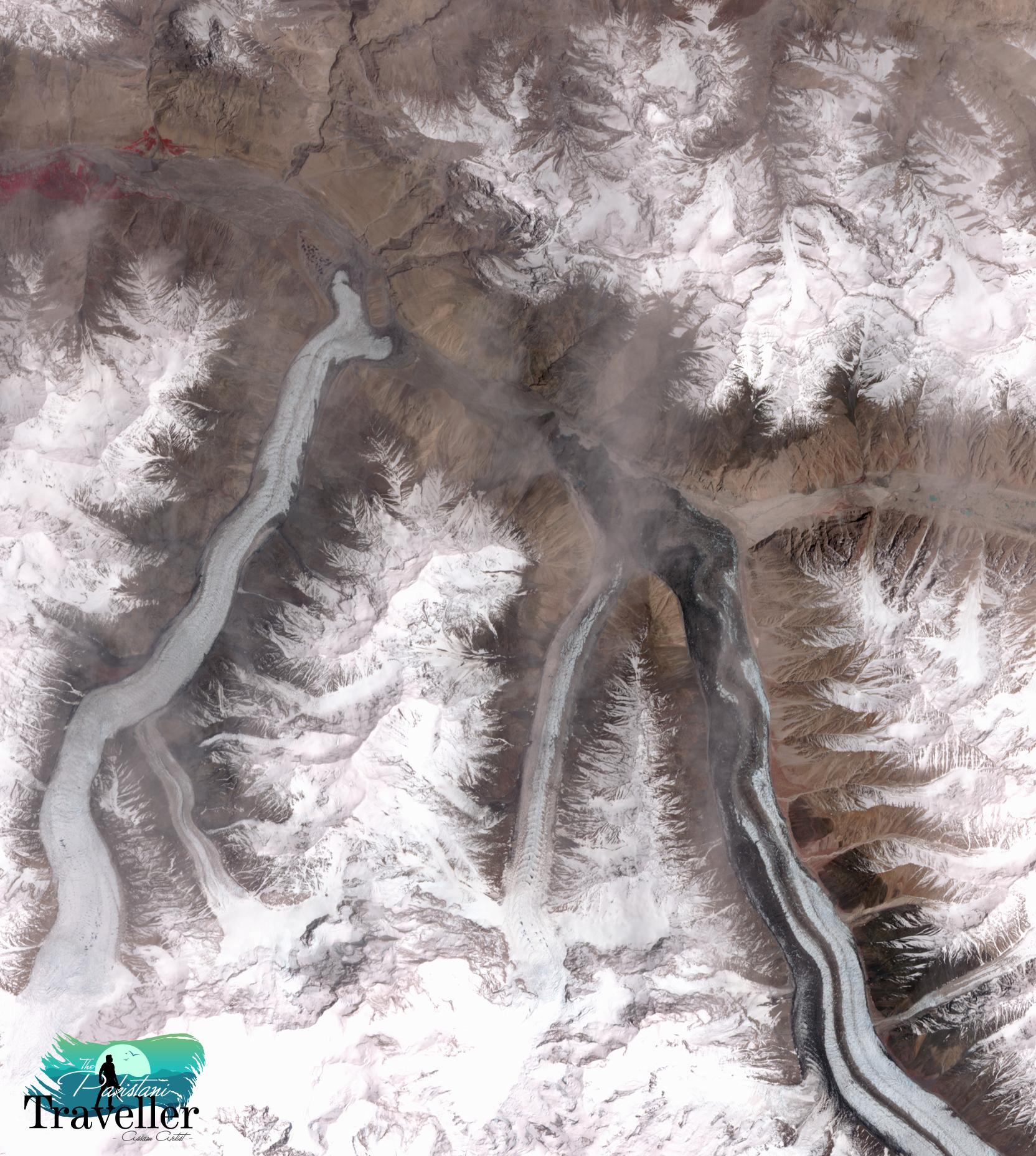 12. Khurdopin Glacier, Pakistan