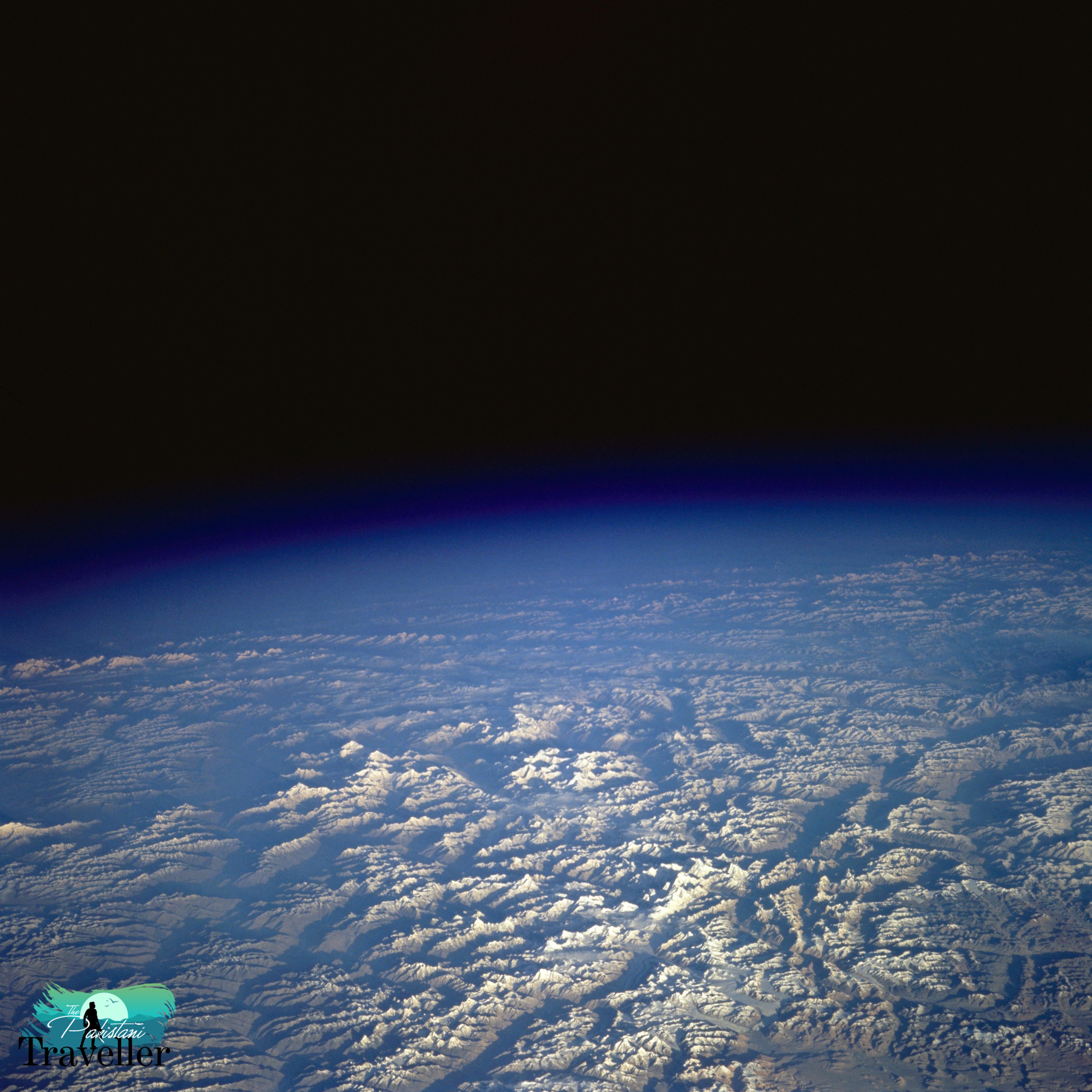 13. Karakorum Range, Pakistan as seen from STS-58