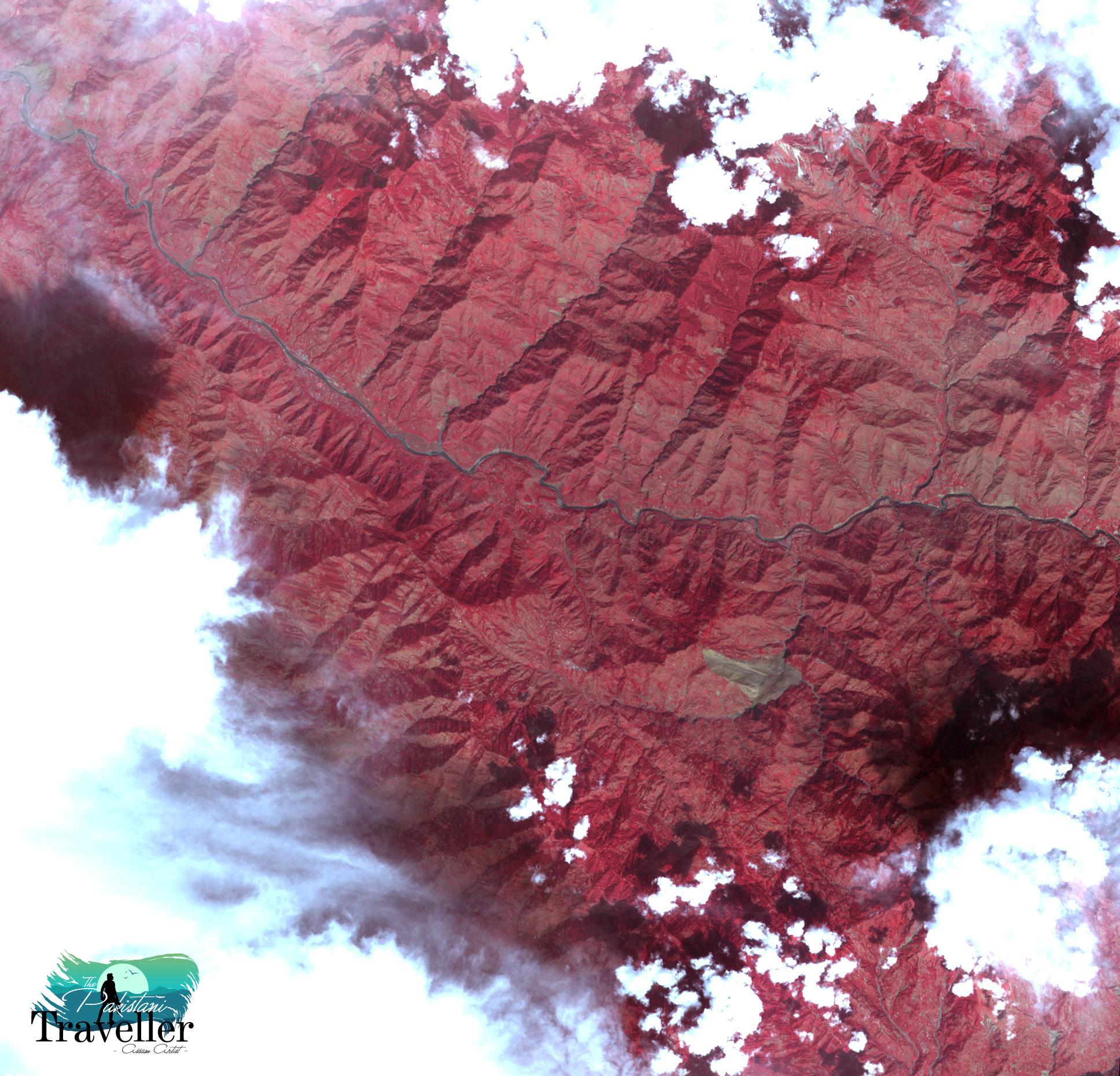14. Landslide in Kashmir