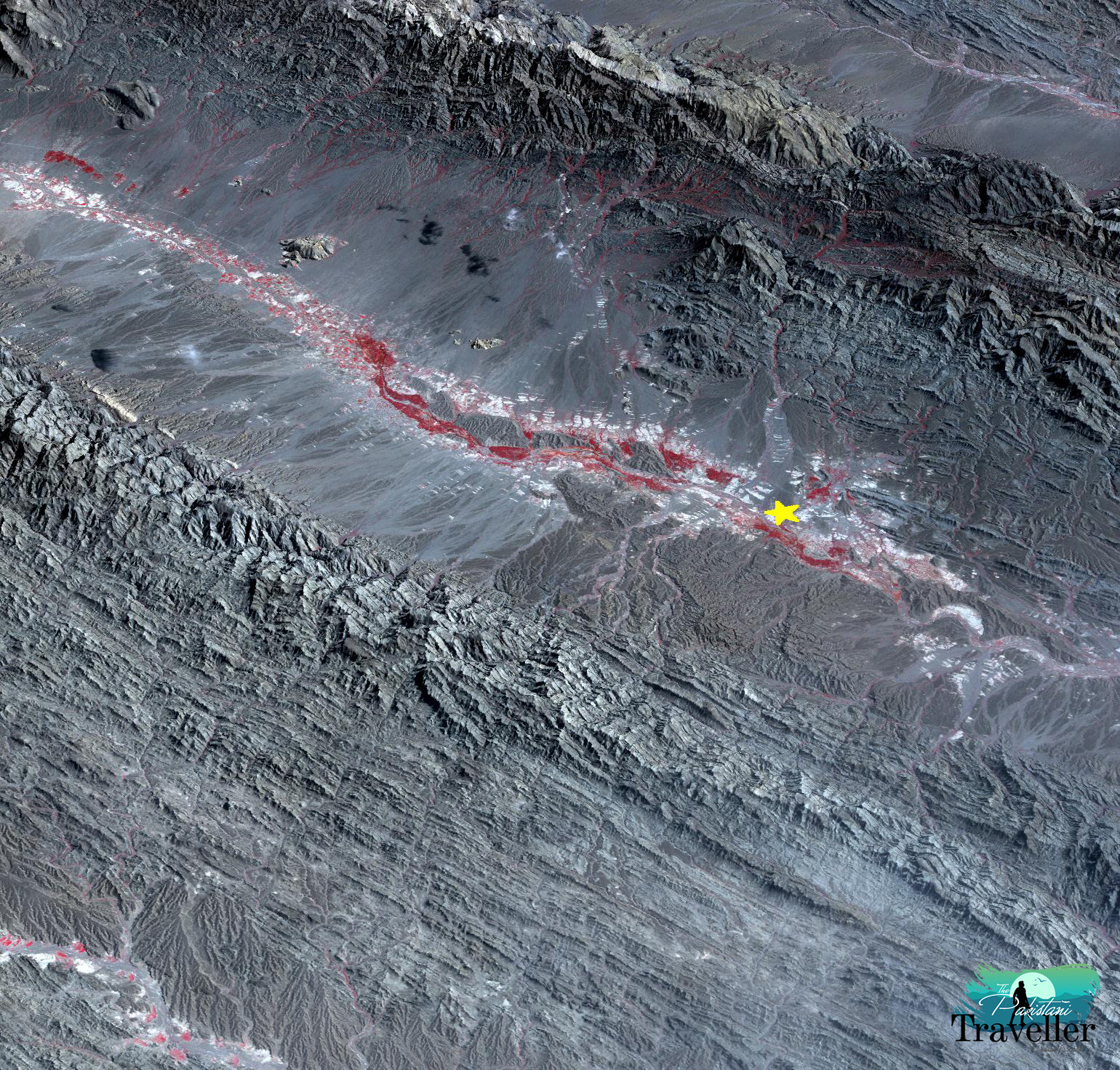 4. Region Hit by Large Pakistan Quake as Shown by NASA Spacecraft
