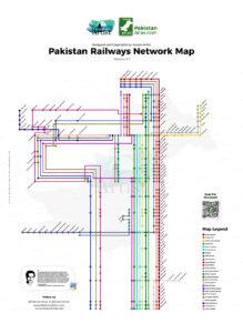 Pakistan Railways Network Map