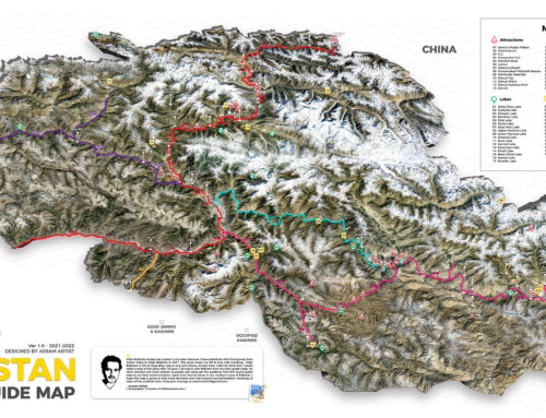 Gilgit Baltistan Tourist Guide Map