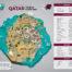 Qatar First Tourist Guide Map